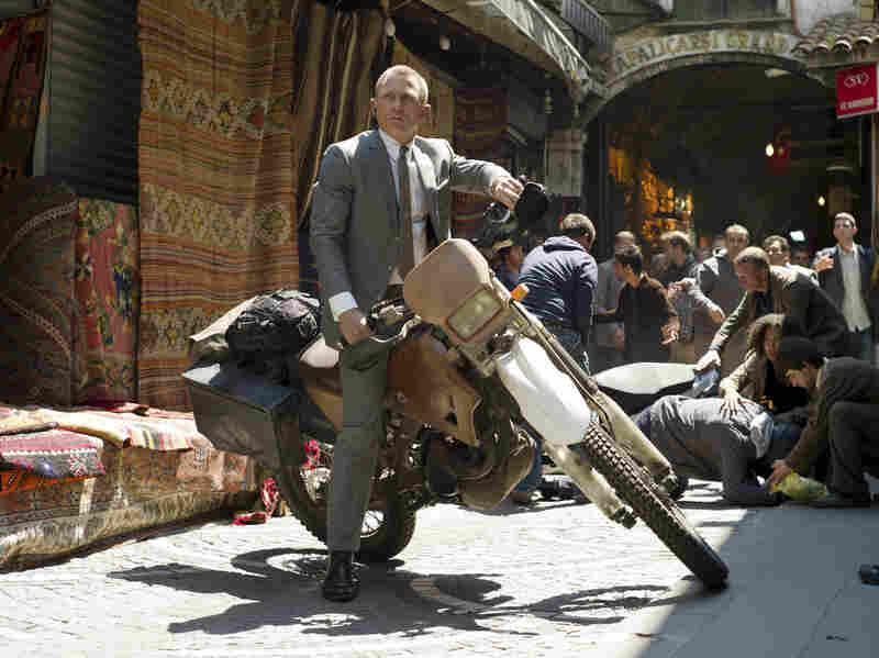 Daniel Craig stars as James Bond in Skyfall.