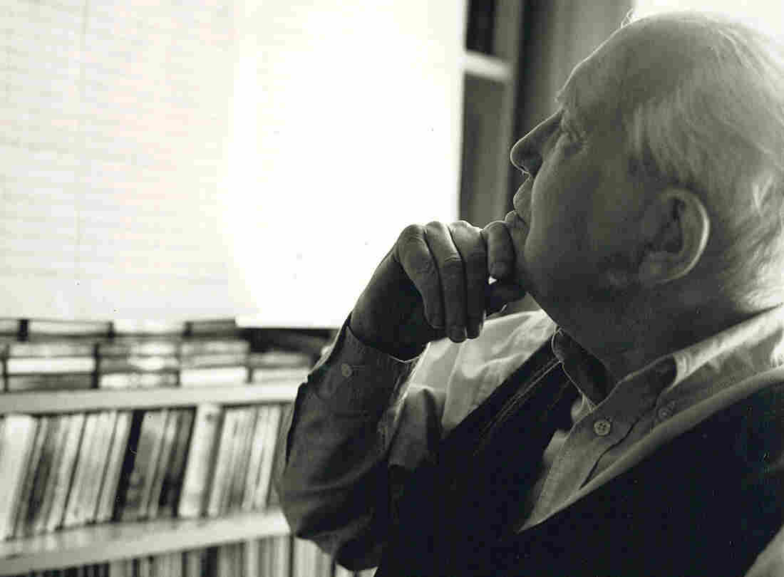 Composer Elliott Carter, who died on Nov. 5 at age 103.