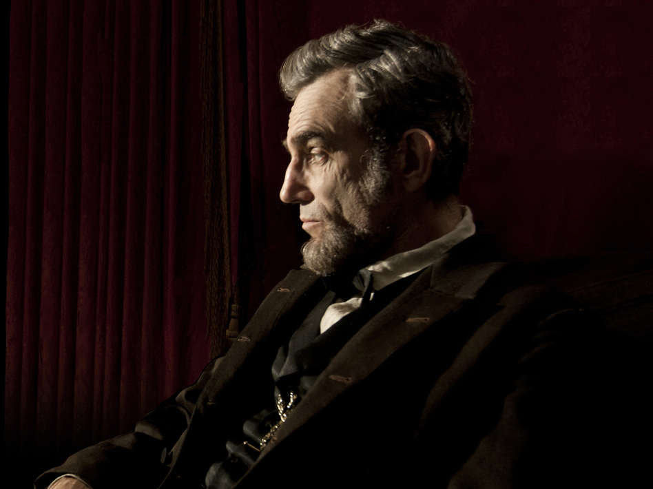 Day-Lewis used firsthand accounts of Abraham Lincoln's speeches, along with his personal letters, to develop a voice and a style for Steven Spielberg's biographical drama. (David James/DreamWorks)