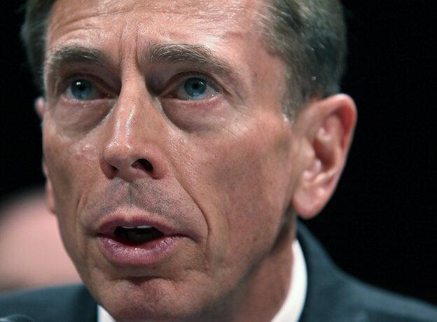 Former Central Intelligence Agency Director, David Petraeus, in Sept. 2011.