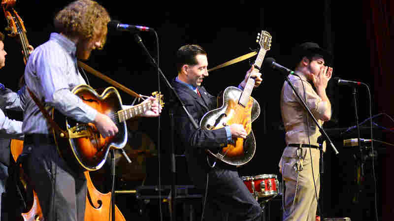 Pokey LaFarge And The South City Three On Mountain Stage