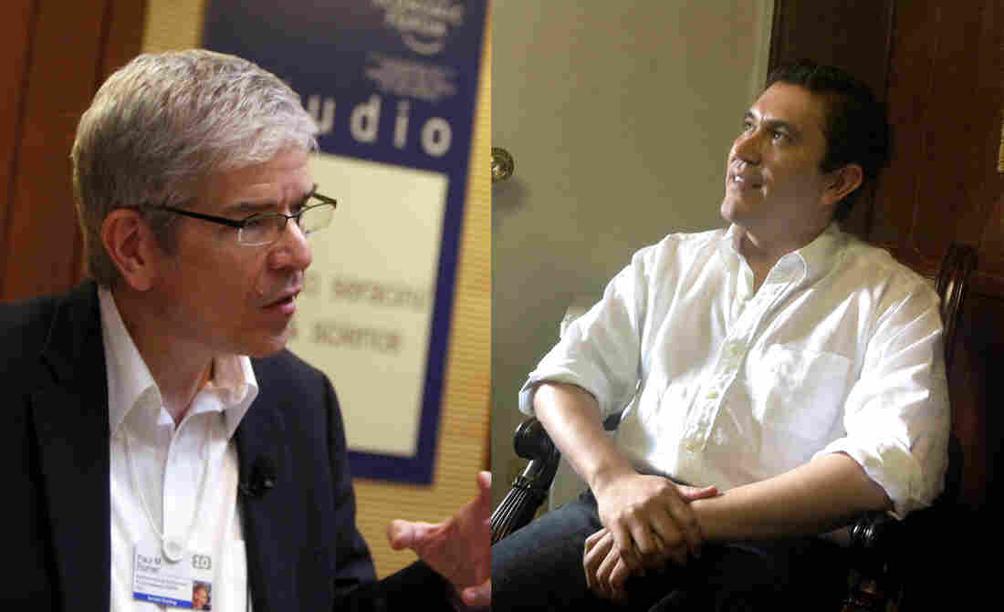 Paul Romer and Octavio Sanchez.