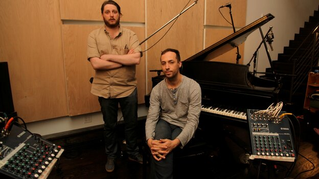 Tim Hecker and Daniel Lopatin's new album, Instrumental Tourist, comes out Nov. 20.