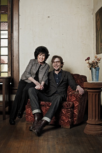 Wanda Jackson with Justin Townes Earle.