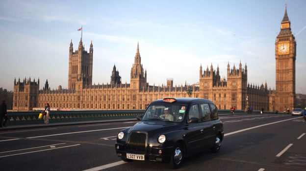 The company that makes London's iconic taxis has had financial difficulties, leaving cabbies in a lurch. (Getty Images)