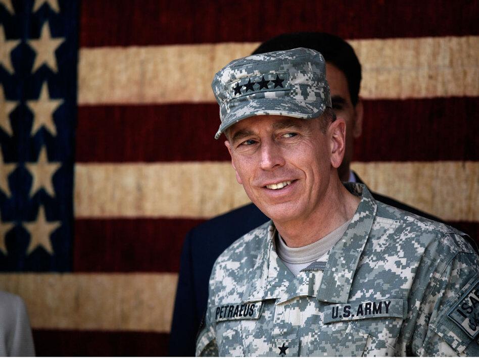 Gen. David Petraeus in Afghanistan in 2010. (AP)