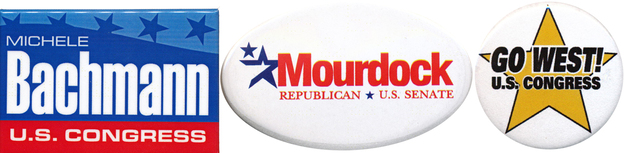 Tea Party favorites: Bachmann (Minn.) barely survived; Mourdock (Ind.) lost a previously safe GOP seat; West (Fla.) refuses to concede.