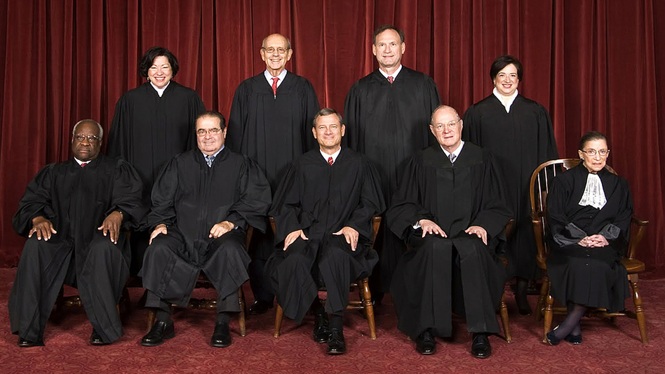 Four of the current U.S. Supreme Court justices are over the age of 70, and many expect at least one appointment during Obama's second term. (United States Supreme Court)