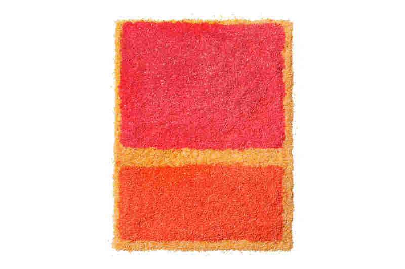 Getting the edges to feather as seen in Rothko's original work was a challenge for Levin.