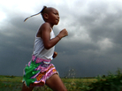 Buffalo Girls follows two 8-year-old professional Muay Thai fighters. Pet Chor Chanachai not only fights to support her family, but does so while suffering from a heart defect.