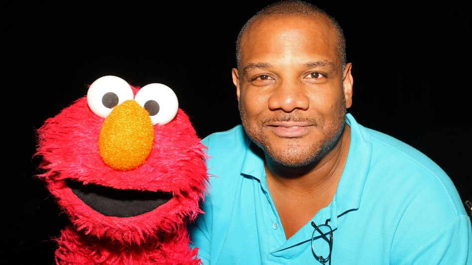 Puppeteer Kevin Clash and Elmo. (Getty Images)