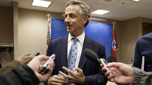 Tennessee Gov. Bill Haslam said last week the state could design its own health insurance exchange required under President Obama's health care law. But resistance in the Republican-controlled General Assembly may cause the state to hand that power off to the federal government. (AP)