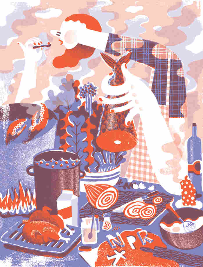 JooHee Yoon's artwork for the 2013 NPR Wall Calendar.