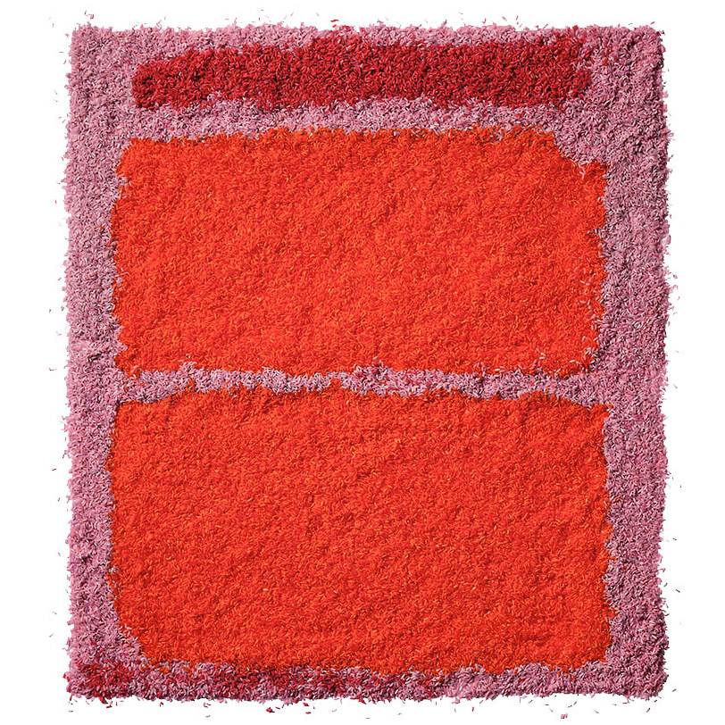 Chef/Stylist Caitlin Levin and photographer Henry Hargreaves create an interpretation of Mark Rothko's paintings using colored rice.