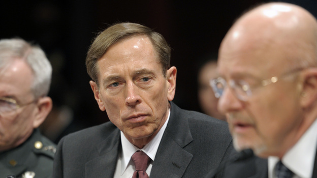 Members of Congress want to know why they didn't know more about the investigation involving former CIA Director David Petraeus, seen here testifying on Capitol Hill on Feb. 2. (AP)