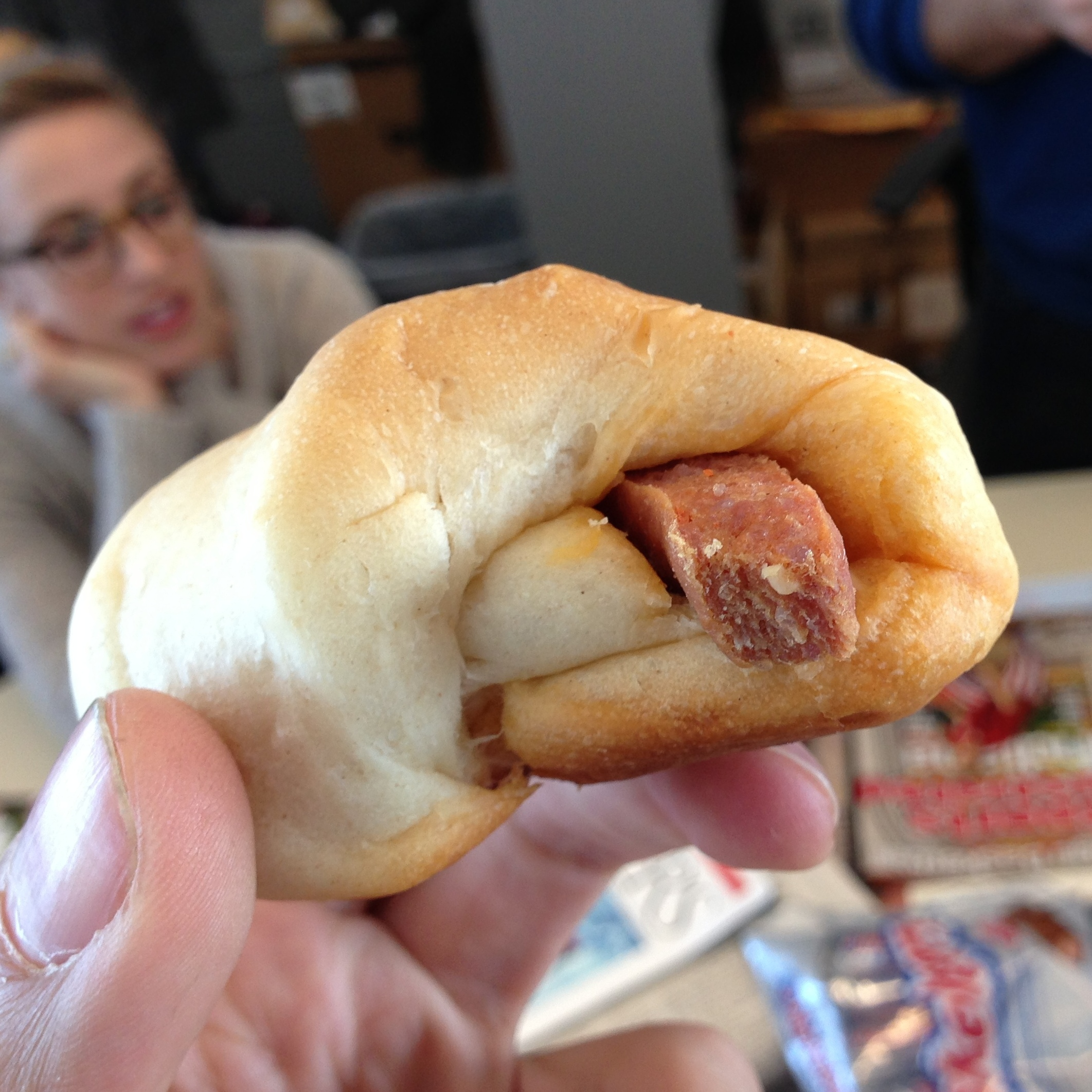 The mighty pepperoni roll.