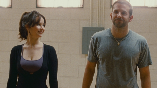 Tiffany (Jennifer Lawrence) and Pat (Bradley Cooper) are damaged souls looking for the kind of stability they shouldn't be able to find in each other. (The Weinstein Co. )