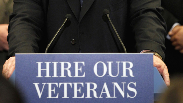 Last year, Congress passed legislation that — among other things — gave employers tax credits for hiring vets. (AP)
