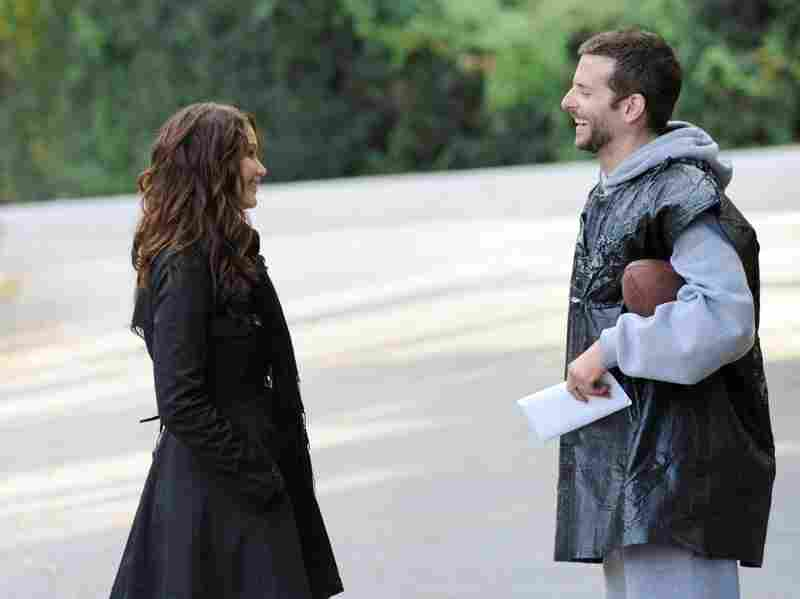 Cooper's character, Pat Solatano, meets Tiffany (Jennifer Lawrence) while trying to get his life together after being released from a state institution.