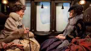 Leo Tolstoy's Countess Vronsky (Olivia Williams) and Anna (Keira Knightley) come to life in Joe Wright's adaptation of the classic Russian novel Anna Karenina.