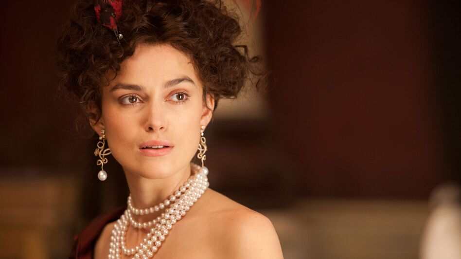 Keira Knightley plays the title role in Wright's adaptation of Anna Karenina. This is her third film with the director. (The Weinstein Company)