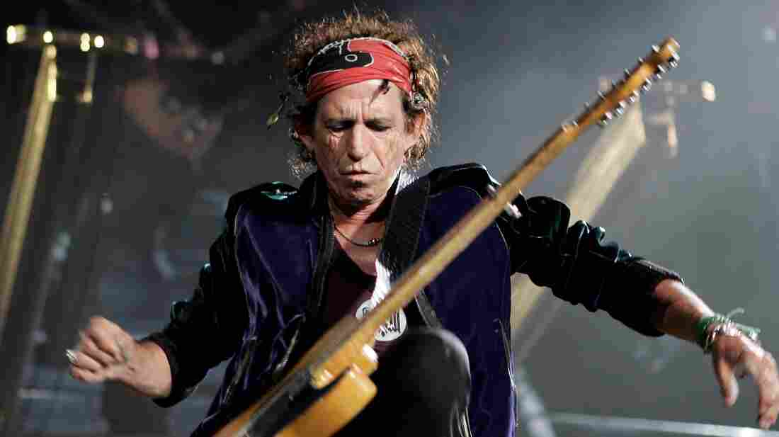 """Guitarist and songwriter Keith Richards calls """"Street Fighting Man"""" one of his favorite Rolling Stones songs."""