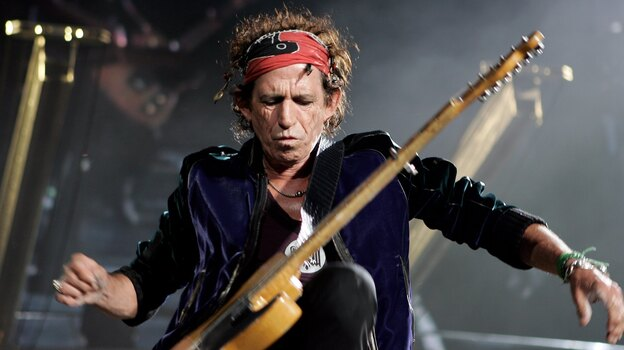 """Guitarist and songwriter Keith Richards calls """"Street Fighting Man"""" one of his favorite Rolling Stones songs. (Getty Images)"""