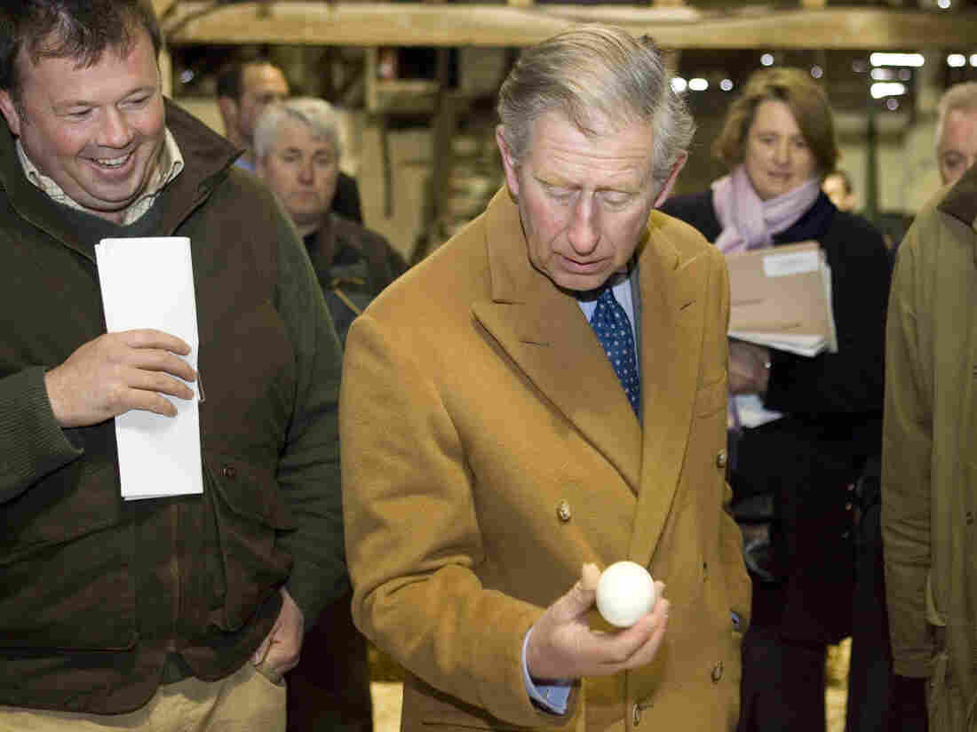 Prince Charles does like eggs, but he doesn't insist on being able to choose from among many, the palace says.