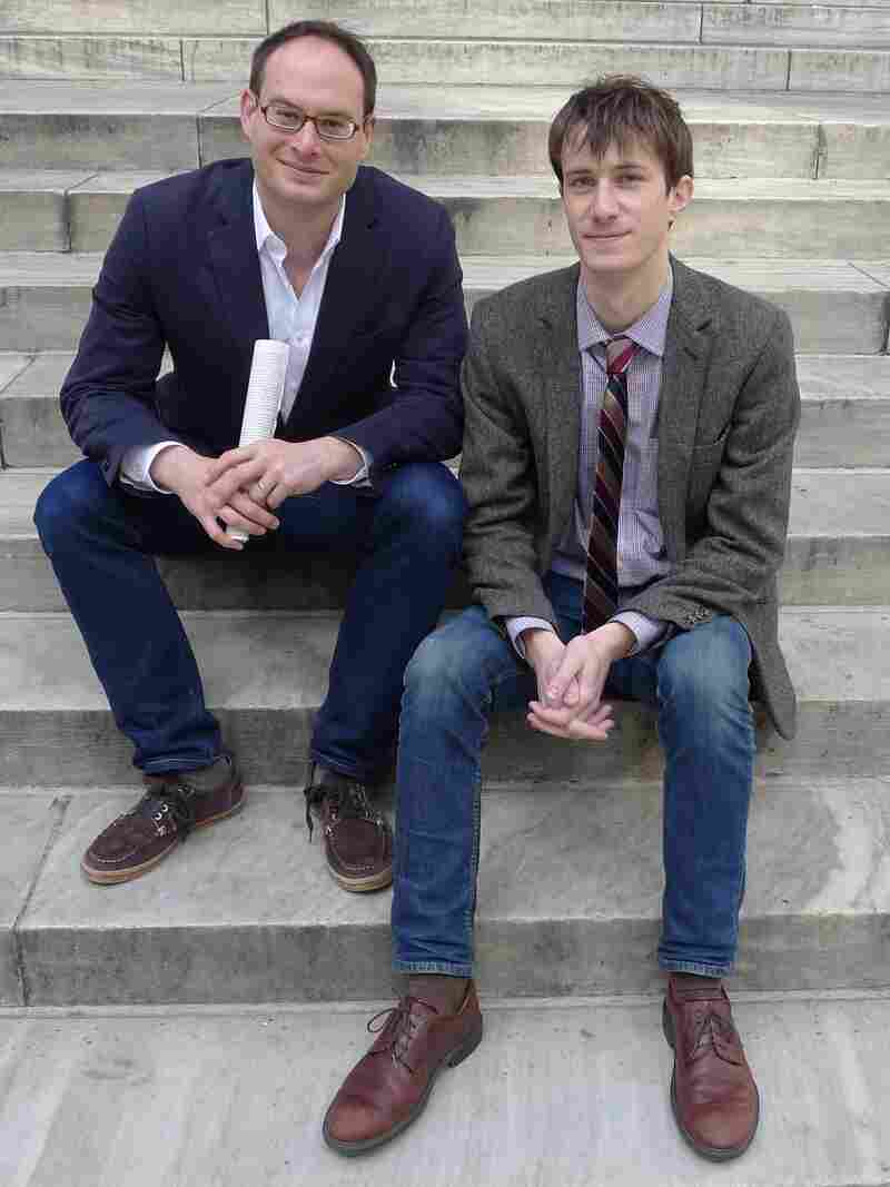 Franklin Foer (left) is the editor of The New Republic, where Marc Tracy (right) is a staff writer.