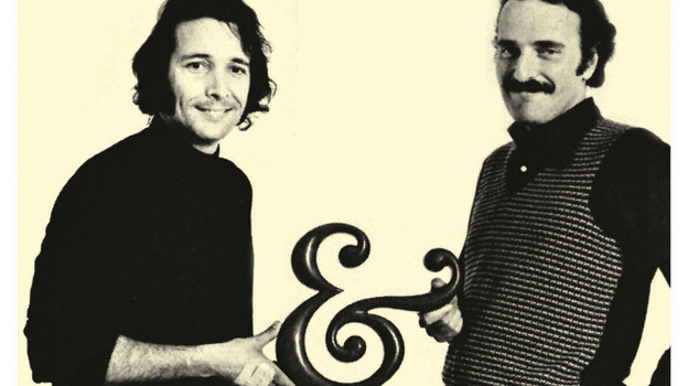 Herb Alpert (left) and Jerry Moss, who founded A&M Records in Alpert's garage in 1962. (Courtesy of A&M Records)