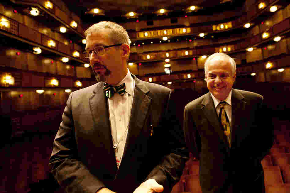 Organ consultant Jeff Weiler (left) and Casavant artistic director Jacquelin Rochette oversaw the tremendous task of building, installing and voicing the Kennedy Center's new organ.