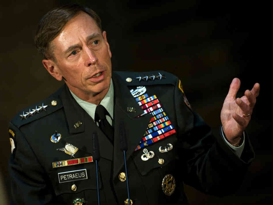 Then-Gen. David Petraeus in mid-2011, just before he became CIA director.