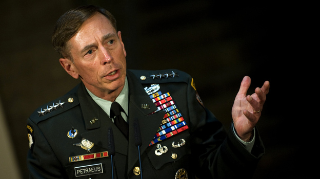 Then-Gen. David Petraeus in mid-2011, just before he became CIA director. (AFP/Getty Images)
