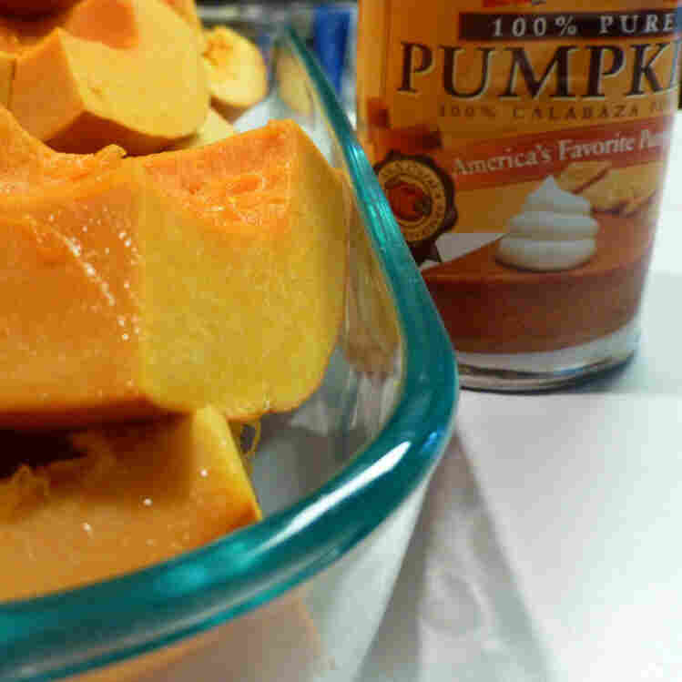 Raw pumpkin v. canned pumpkin