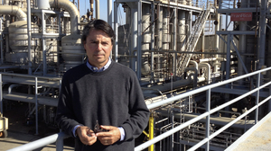 Stuart Woolf, managing director of Los Gatos Tomato Products, says he has already taken many major steps to increase his company's efficiency and reduce its carbon footprint. But he says California's new climate law is introducing new uncertainty and costs into the business.