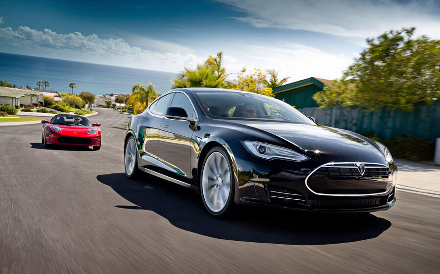 Motor Trend Names Tesla S Car Of The Year, First Electric Car To ...