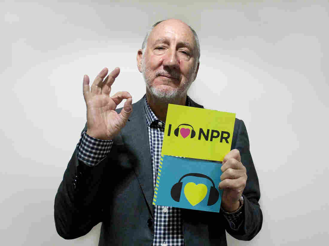 Pete Townshend at NPR HQ in Washington, D.C.