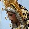 "A statue of the Virgin Mary is pictured during the ""El Baratillo"" brotherhood procession, part of the Holy Week in Seville, Spain, in 2011."