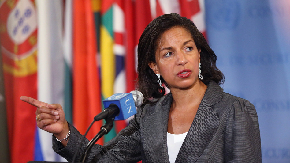 Susan Rice, the U.S. ambassador to the United Nations, is considered a leading candidate to become the next secretary of state. Leading Senate Republicans say they would seek to block her if she's nominated. (Getty Images)