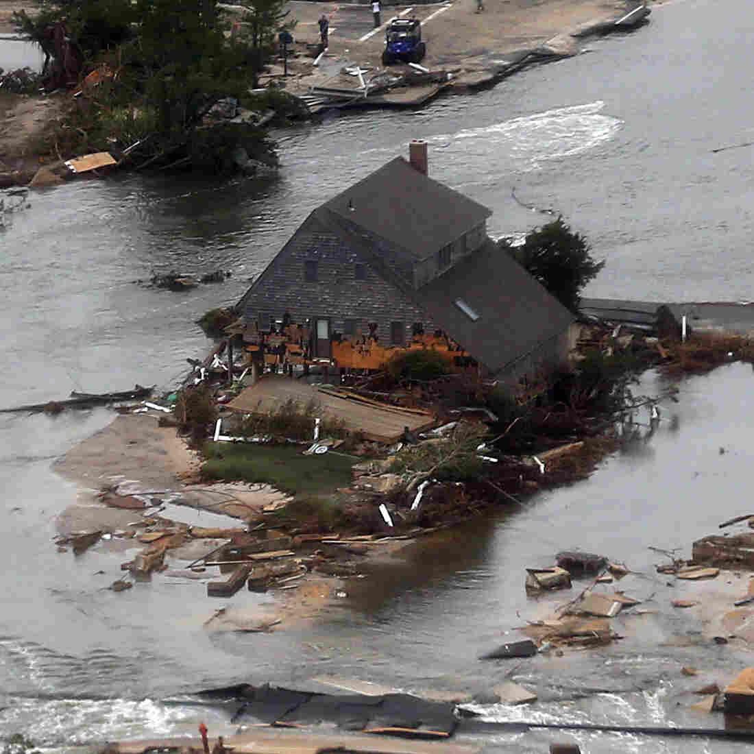In Sandy's Wake, A Reshaped Coastline