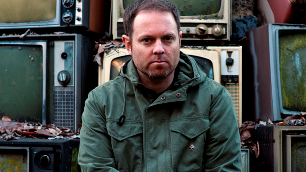 DJ Shadow's latest release is the career-spanning, limited-edition box set Reconstructed. (Courtesy of the artist)