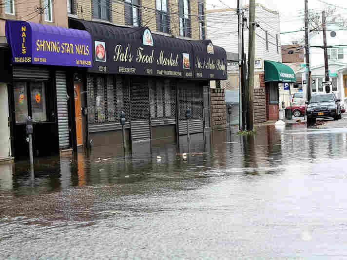 Howard Beach, Queens. October 30, 2012.