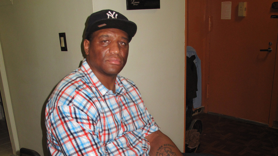 Michael Liburd was waiting for essential medical supplies to arrive when Hurricane Sandy hit. Now, the delivery company can't find them. He says he's afraid he'll have to go to the hospital if he doesn't get them soon.