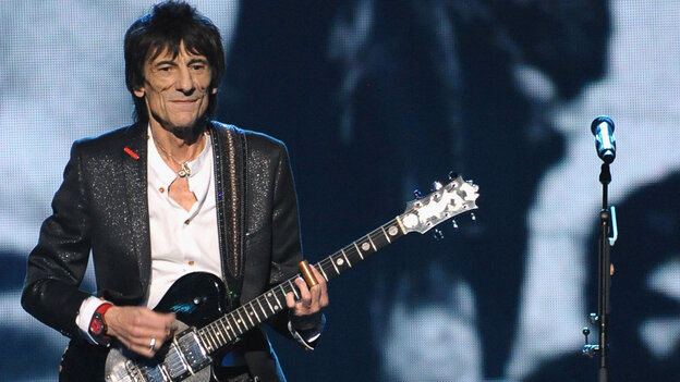 """Rolling Stones guitarist Ron Wood says 1980's """"Dance (Pt. 1),"""" which he helped write, was designed to get people moving."""