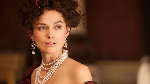 Keira Knightly stars as the title character in Joe Wright's adaptation of Leo Tolstoy's <em>Anna Karenina</em>.