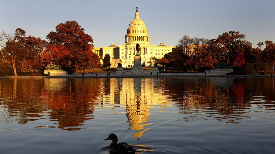The Capitol on Monday, as Congress prepared to return for its post-election lame duck session. (AP)