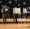 A man votes on Nov. 6 in Chicago.