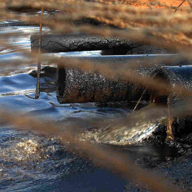 Loophole Lets Toxic Oil Water Flow Over Indian Land
