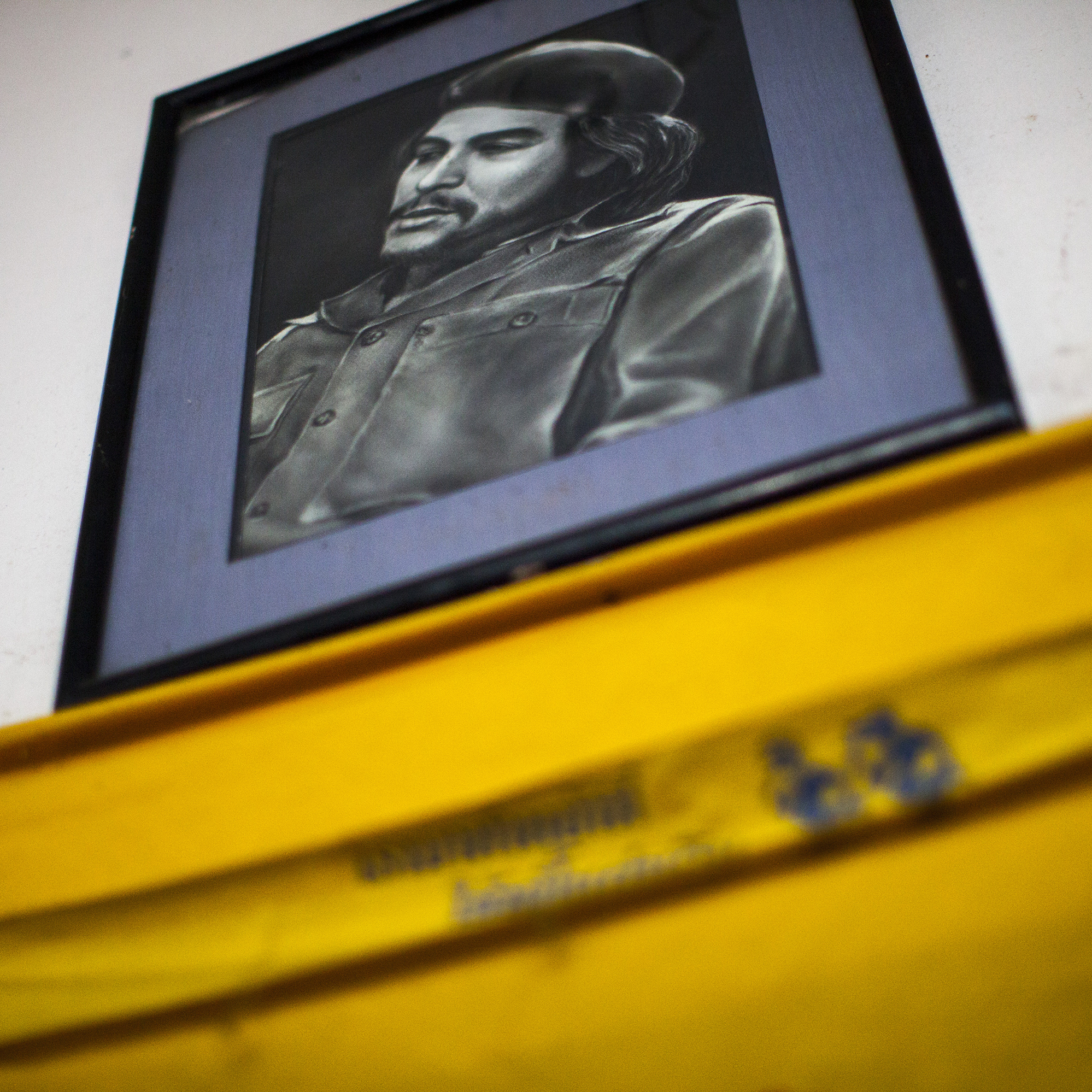The decor of Aiya includes several portraits of Che Guevara. Thu says the Marxist revolutionary represents for him a symbol of international rebellion.
