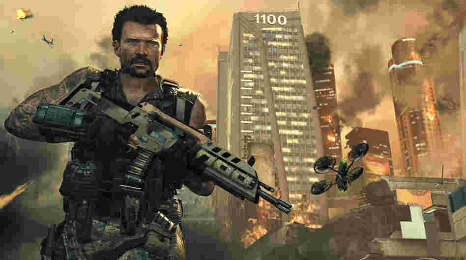 "A screen shot of the video game ""Call Of Duty: Black Ops II."""